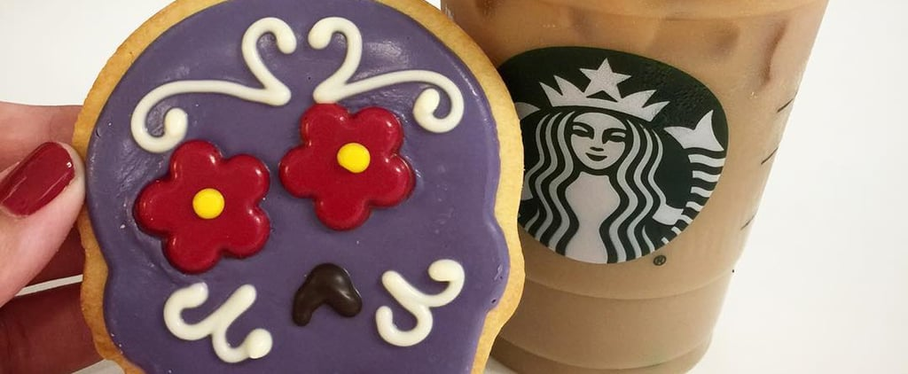 Run, Don't Walk, to Starbucks For These New Calavera Cookies