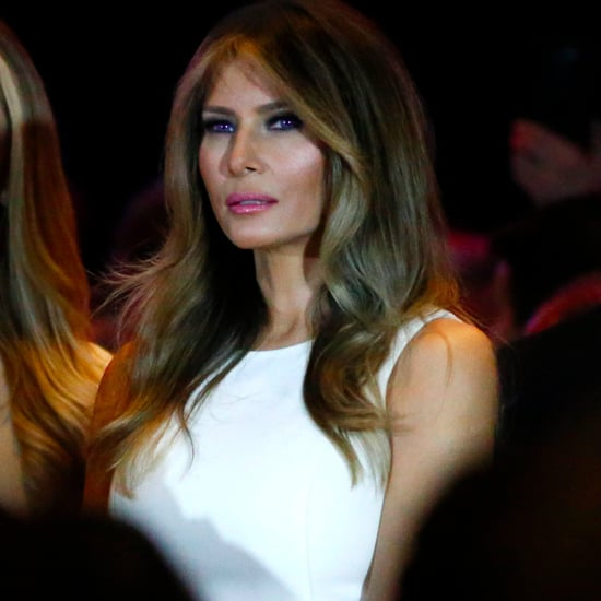 Melania Trump Wearing a Michael Kors Dress
