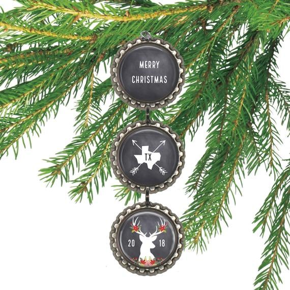 Any State Christmas Ornament
