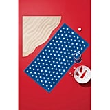Star Beach Towel Blue