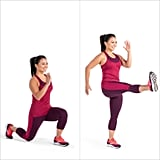 Alternating Lunge and Kick