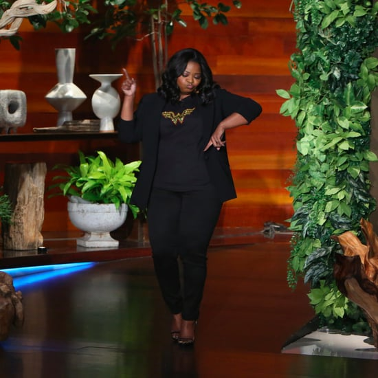Octavia Spencer on The Ellen DeGeneres Show January 2017