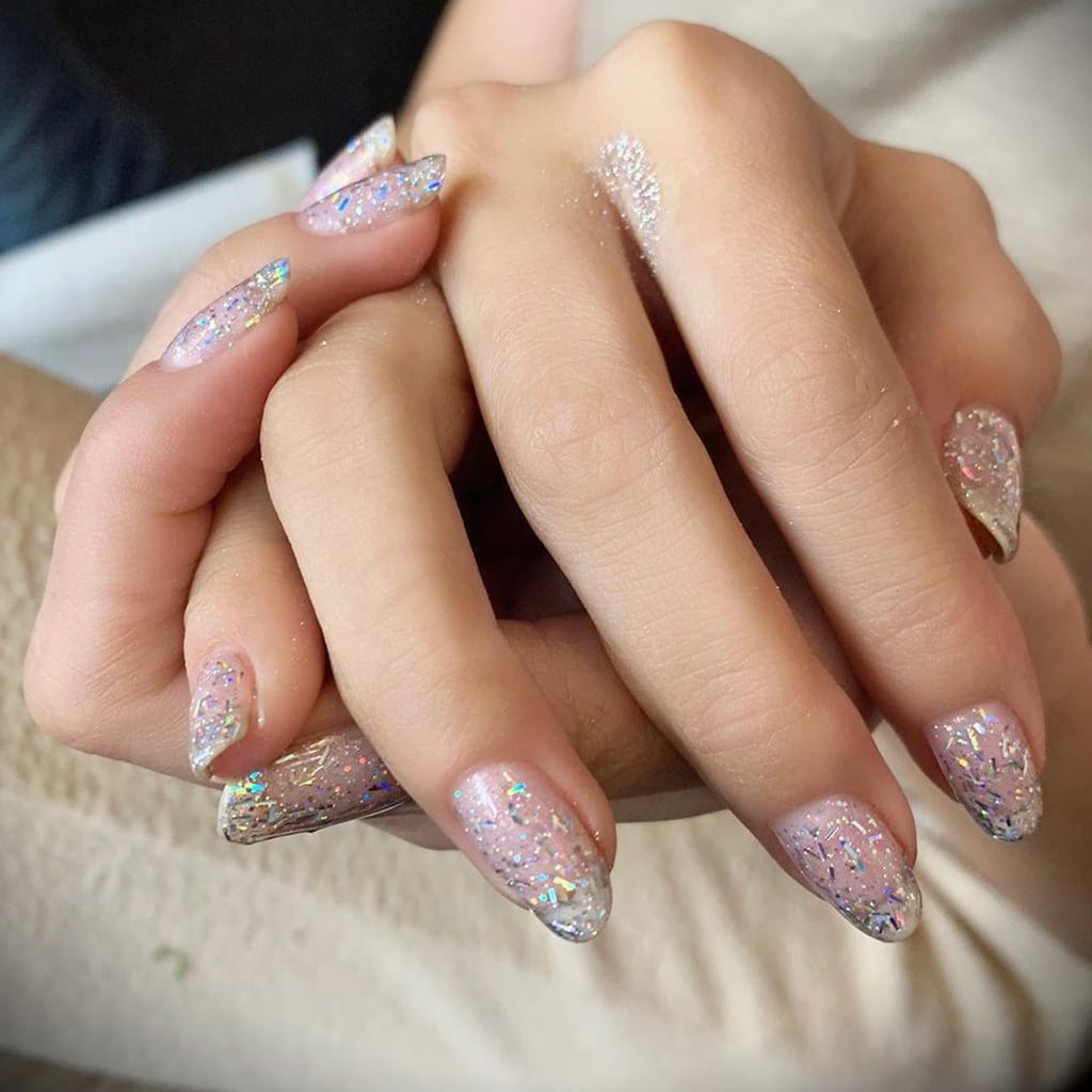 Selena Gomez's Glitter Nail Polish For Rare Music Video
