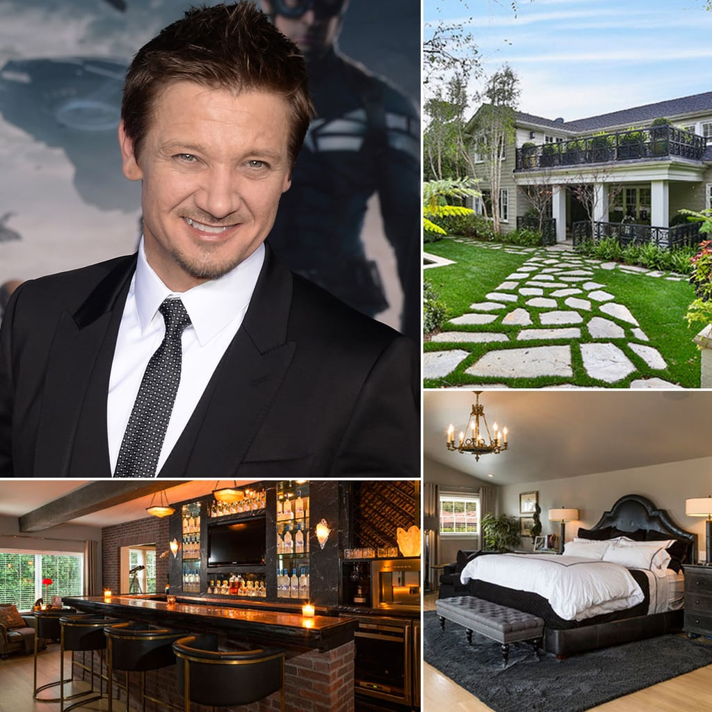 jeremy renner hollywood home pictures popsugar home. Black Bedroom Furniture Sets. Home Design Ideas