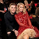 Pictured: Chris Zylka and Paris Hilton