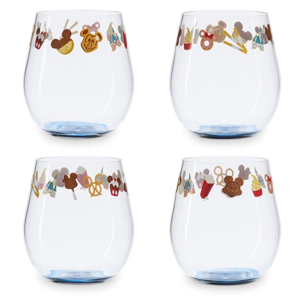 Disney Parks Food Icons Cup Set