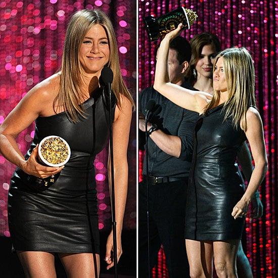 Jennifer Aniston at MTV Movie Awards 2012