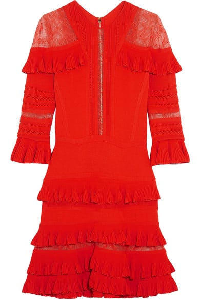 For something that makes a statement, slip into this Elie Saab Ruffled Mini Dress ($2,775).
