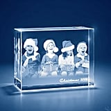 3D Photo Engraved Crystal Keepsake