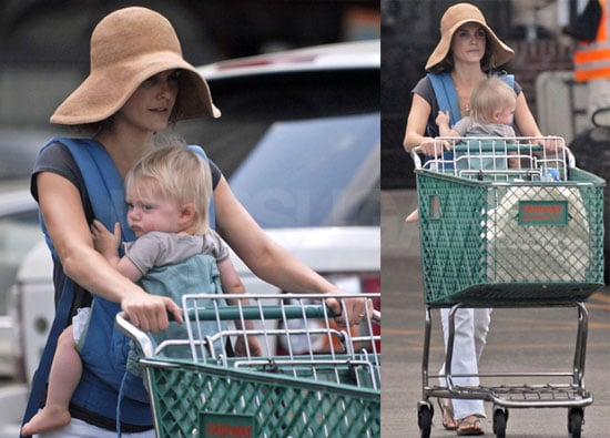 Photos of Celebrity Baby River Deary With Mom Keri Russell