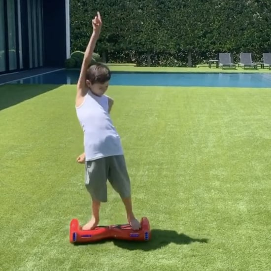 Video of Jennifer Lopez's Son, Max, Dancing on a Hoverboard
