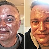 قناع Rose Gold Foil Peel-Off Mask القابل للنزع من علامة Masque Bar