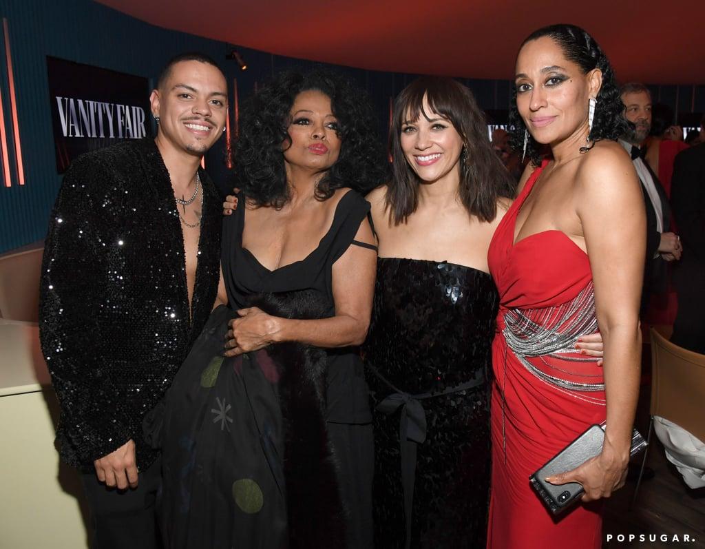 Rashida Jones and Evan, Diana, and Tracee Ellis Ross