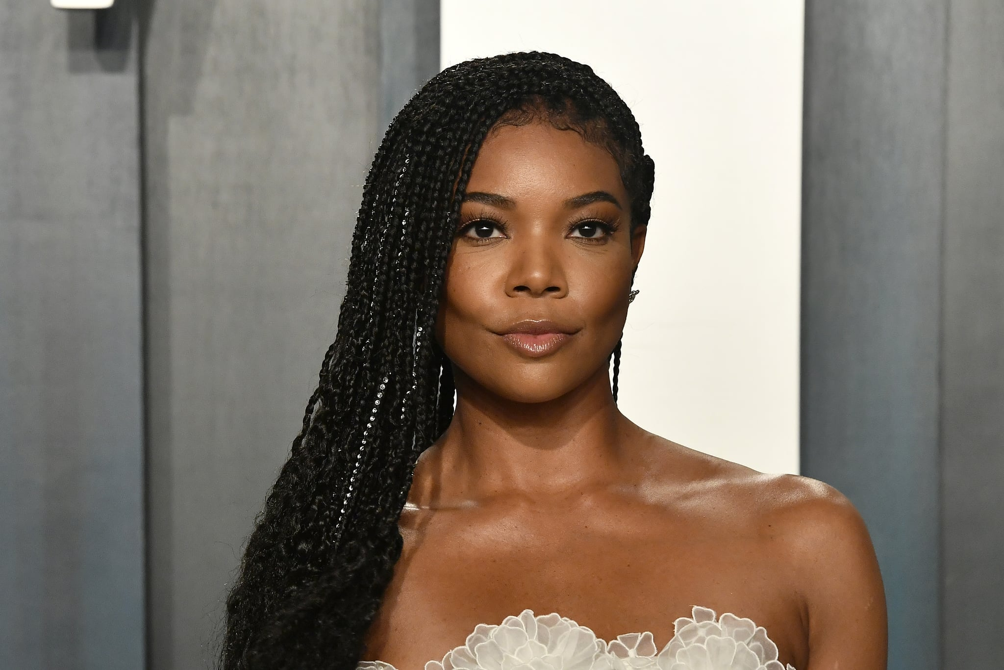 BEVERLY HILLS, CALIFORNIA - FEBRUARY 09: Gabrielle Union  attends the 2020 Vanity Fair Oscar Party hosted by Radhika Jones at Wallis Annenberg Centre for the Performing Arts on February 09, 2020 in Beverly Hills, California. (Photo by Frazer Harrison/Getty Images)