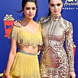 Laura and Vanessa Marano at the 2019 MTV Movie and TV Awards