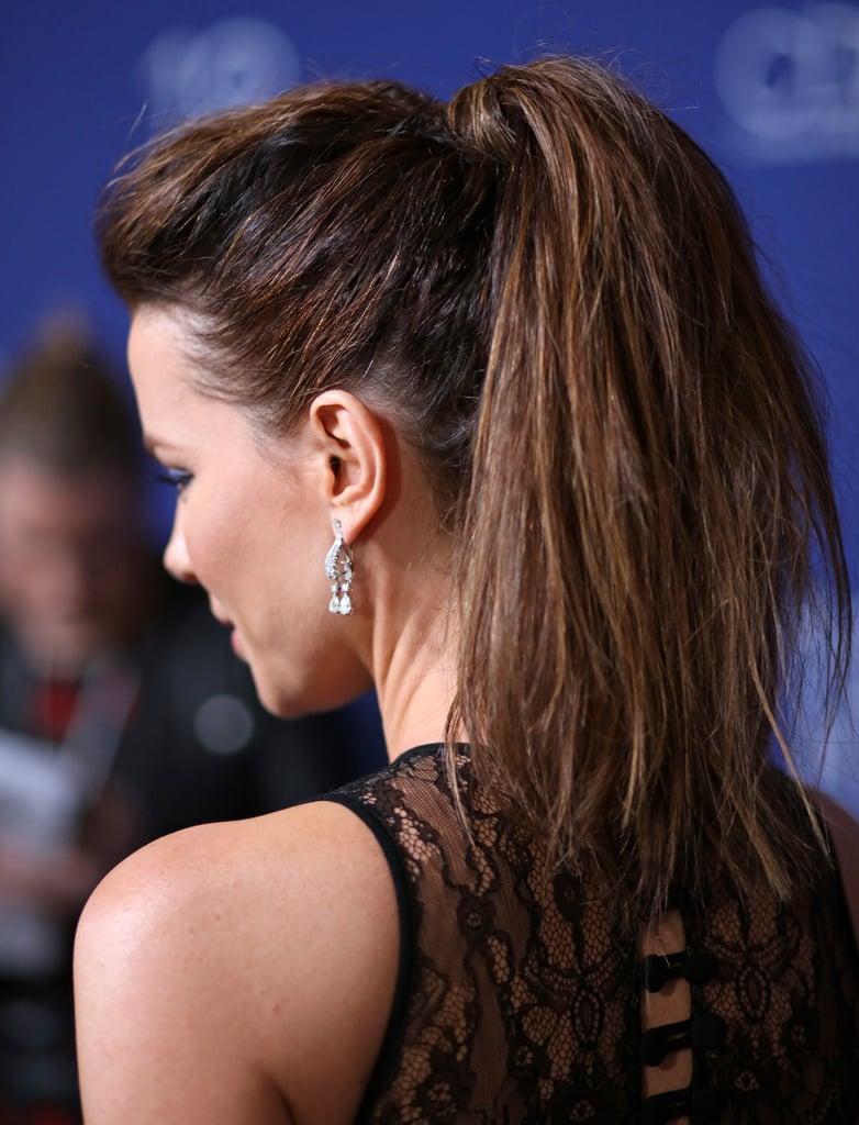 Kate Beckinsale Ponytail Hair Photos