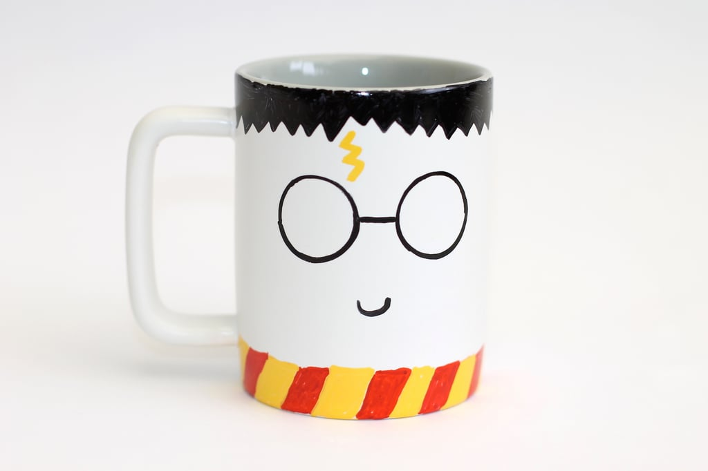 To care for your mug, handwash it. Your Harry drawing may rub off if you place it in the dishwasher. And we can't let that happen! If Voldemort couldn't defeat Harry, we can't let your dishwasher do it.