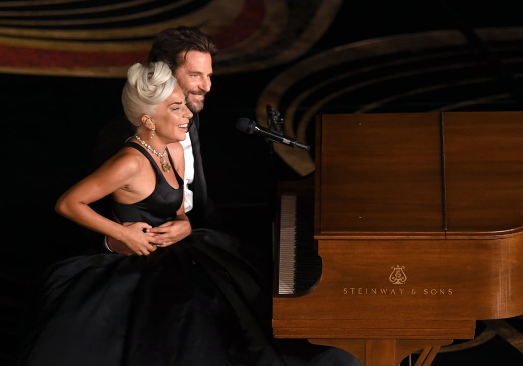 "Lady Gaga Bradley Cooper Oscars ""Shallow"" Performance Photos"