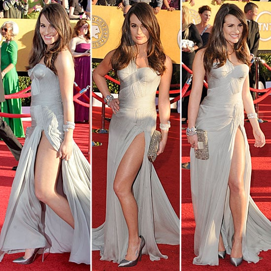 Lea Michele at the SAG Awards 2012