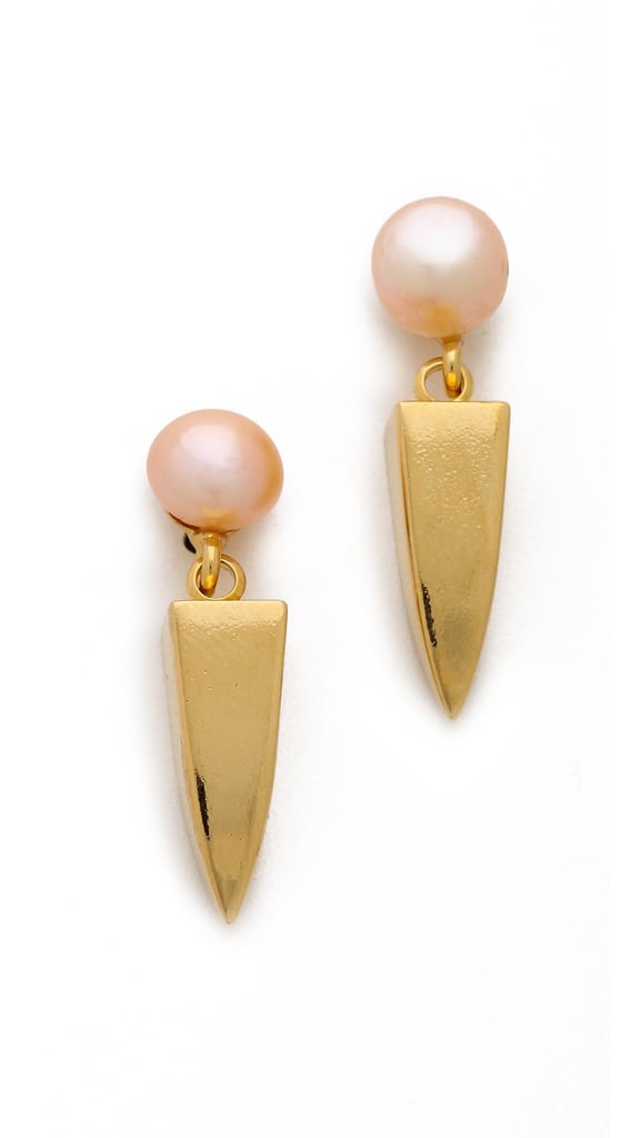 Lizzie Fortunato Pearl Earrings