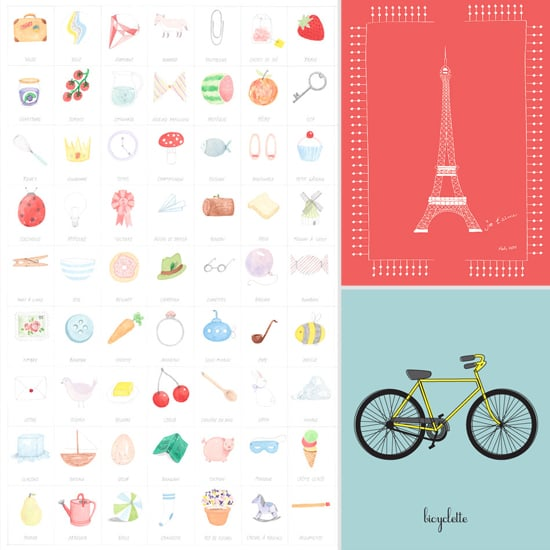 French Art Prints For Kids