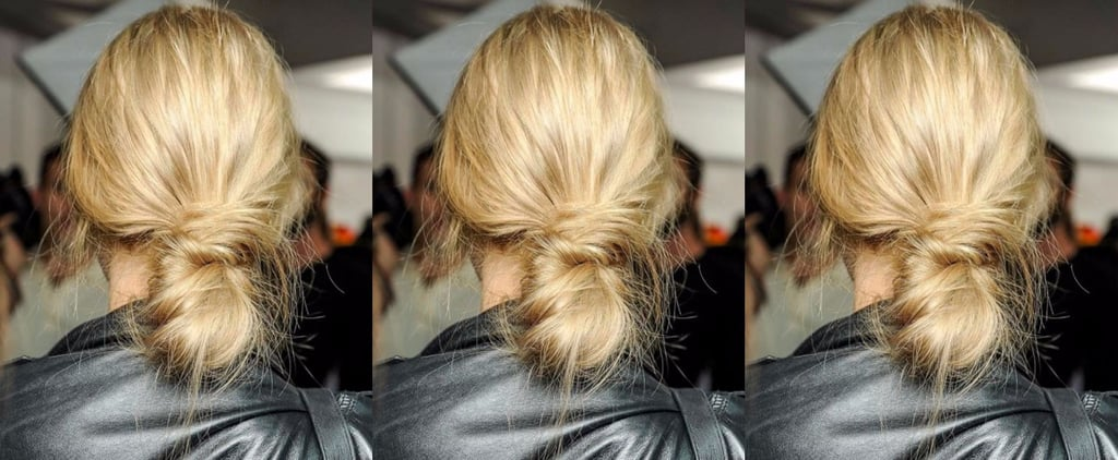 Banana Bun Parisian Hair Trend Inspiration