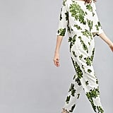 Anthropologie Kara Leaf-Print Jumpsuit (£198)