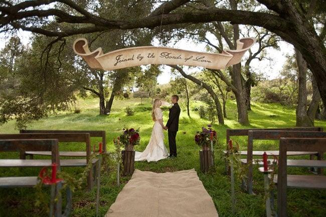 Princess Bride Ceremony Signage