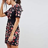 French Connection Bella Ottoman Floral Print Pencil Dress