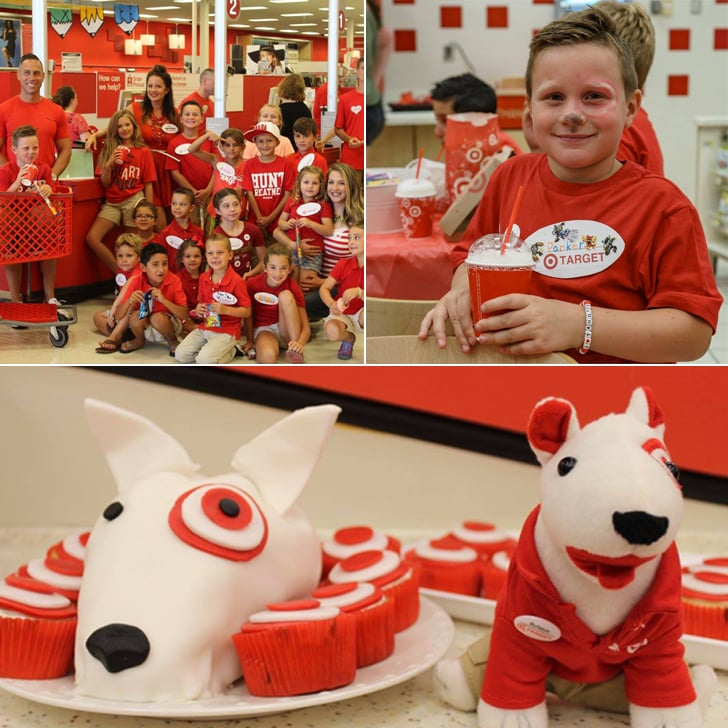 Mom Throws Her Son A Target Birthday Party