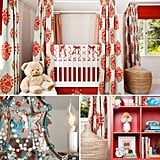 Nurseries: A Fab Fabric-Draped Nursery