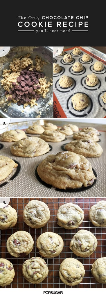 Chocolate Chip Cookies With Flake Salt