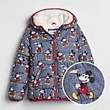 Mickey Mouse Sherpa Puffer Jacket