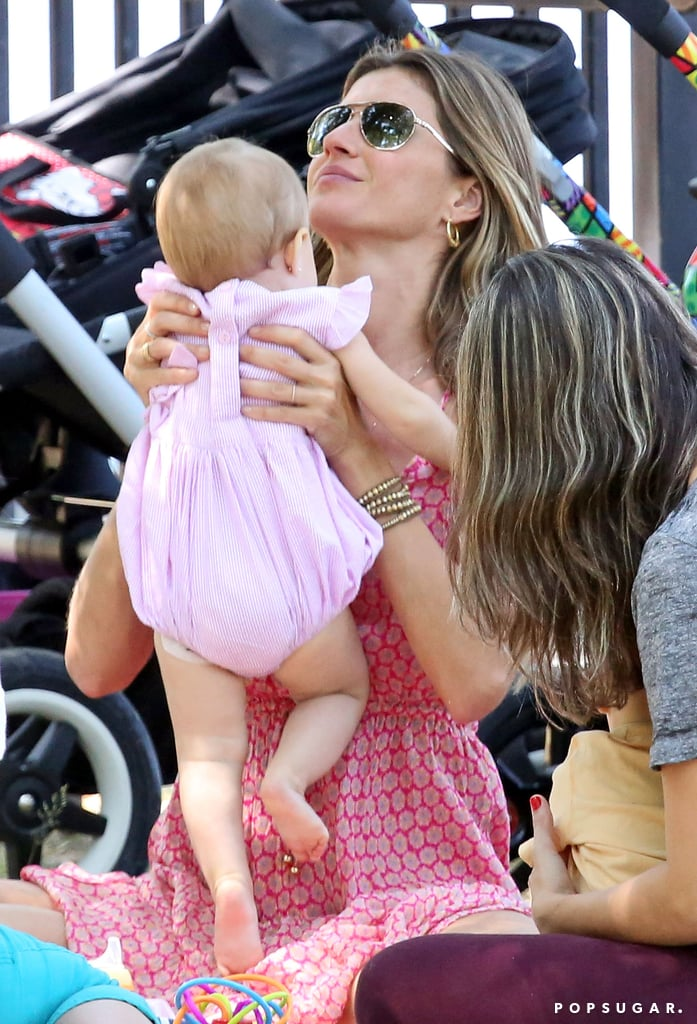 Gisele's Baby Girl Is Growing Up —Spitting Image of Her Daddy!