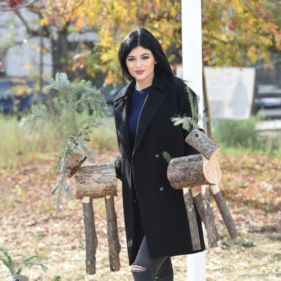 Kylie Jenner's Holiday Decor