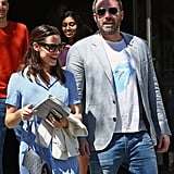 Jennifer Garner and Ben Affleck at Church on Easter 2017