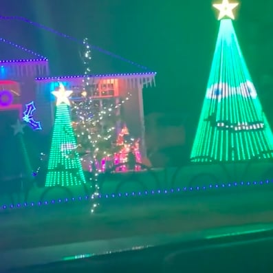 Talking Christmas Tree Decorations Viral Video