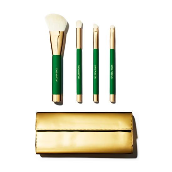 Pamper that woman you know who doesn't give herself a break with a Sonia Kashuk Limited Edition Classic Chic Brush Set ($22), which includes four essential brushes and a cute gold carrier to put them in.