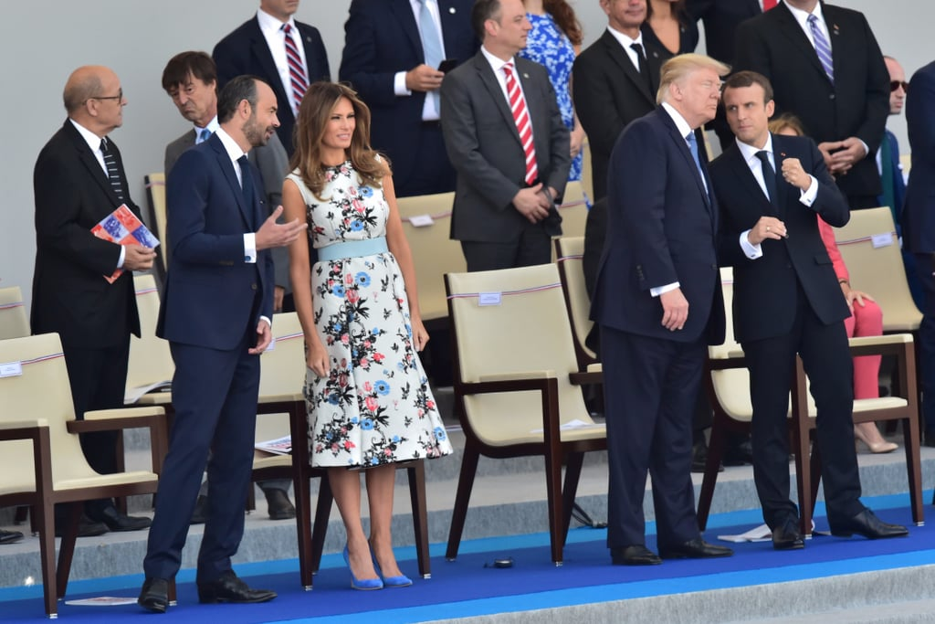 Melania Trump Valentino Dress Bastille Day 2017