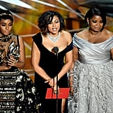 Pictured: Janelle Monae, Taraji P. Henson and Octavia Spencer
