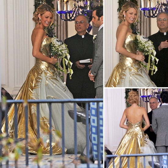 Serena\'s Gossip Girl Wedding Dress | Pictures | POPSUGAR Fashion