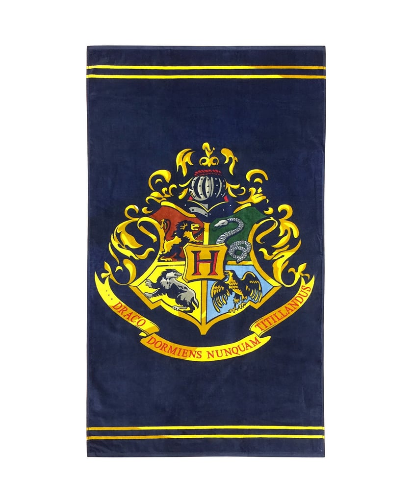 Harry Potter Warner Brothers Classic Crest Beach Towel