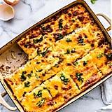 Tex-Mex Egg and Cheese Cauliflower Casserole