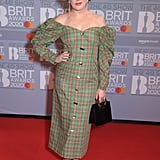 Annie Mac at the 2020 BRIT Awards in London