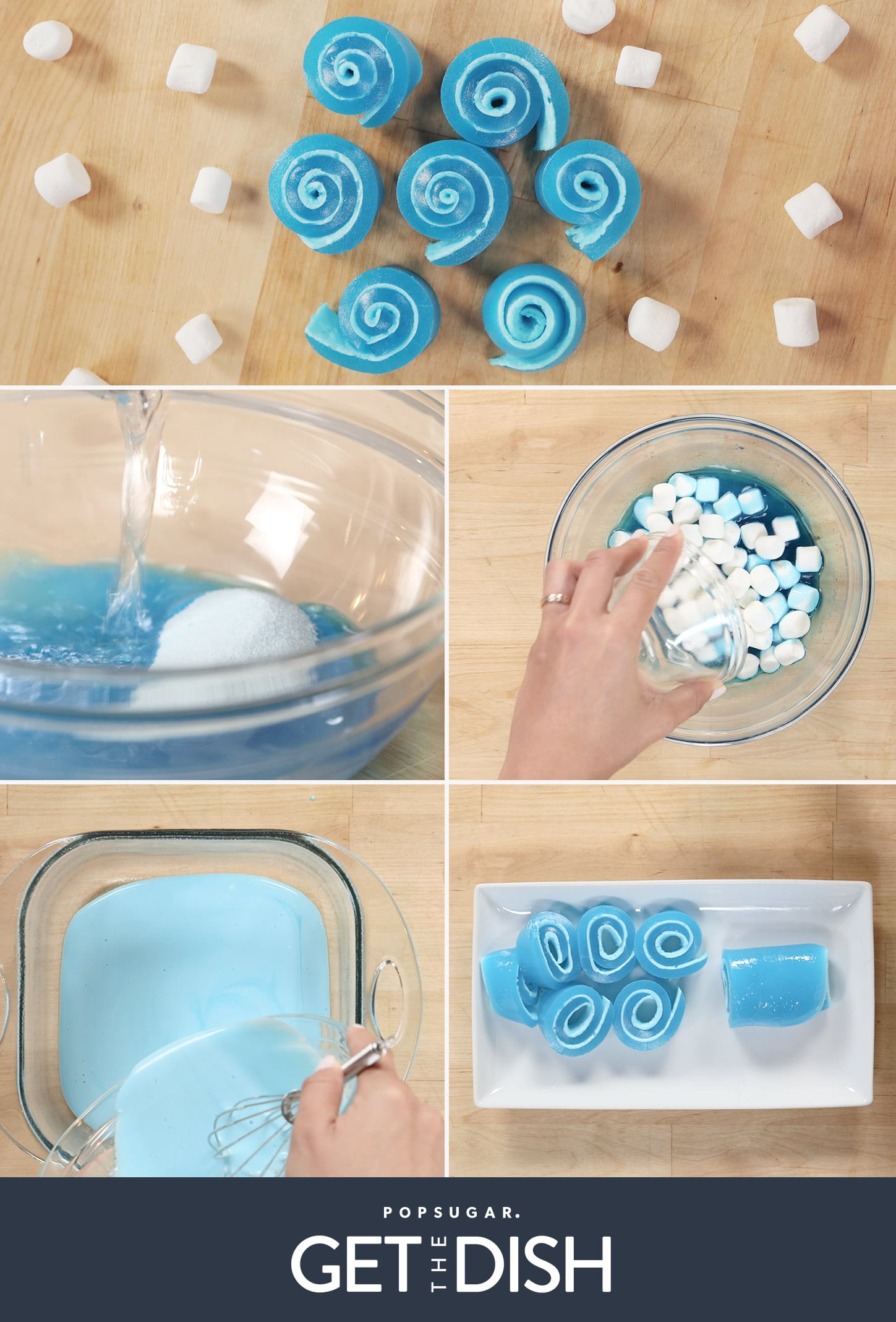 When Jell-O and Marshmallows Combine, the Result Is Magical