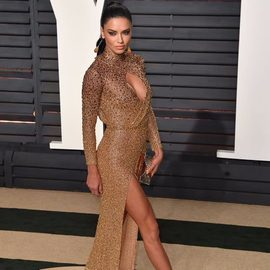 Adriana Lima's Dress at the 2017 Oscars Afterparty