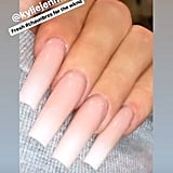 Kylie Jenner's Gradient French Manicure