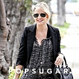 Sarah Michelle Gellar wore dark aviator sunglasses.