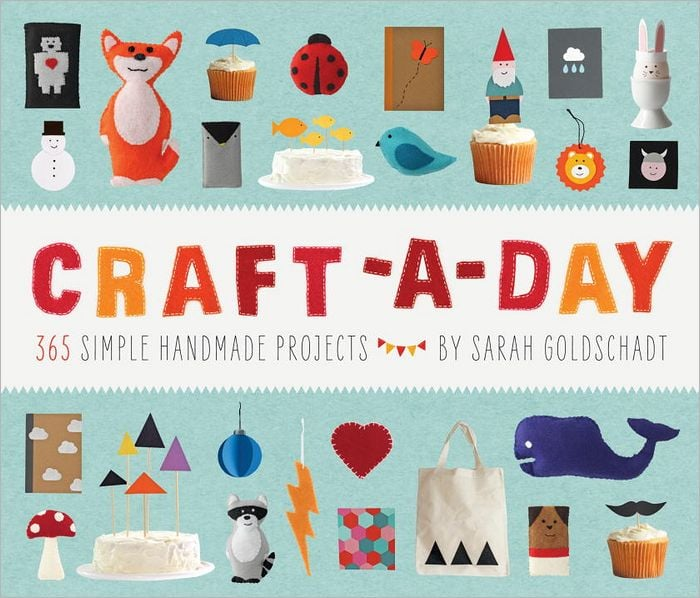 This Craft-a-Day book ($16) goes hand in hand with my New Year's resolution to get artsy. It's filled with bits of inspiration, projects, and tons of photos. I can't think of a better afternoon with girlfriends than picking up one of these crafts together. — Hannah Weil, associate editor