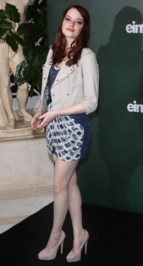 Pictures of Emma Stone Promoting Easy A in Berlin